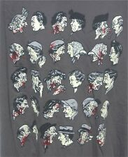 Zombie Love Gray T-Shirt 3X 3XL XXXL Spreading the Disease Made in USA