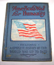 1917 BK-AMERICA'S WAR FOR HUMANITY-RUSSELL-WW I-SAMPLE