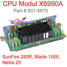 Sun Sun Fire 280R Blade 1000 Netra 20 X6990A+ 750MHz CPU Vrm Board# Sl
