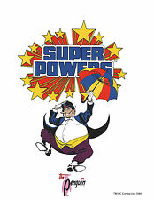 DC SUPER POWERS PRINT - The PENGUIN
