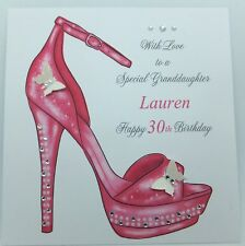Personalised Birthday Card Granddaughter Daughter Niece Friend 18th 21st 30th