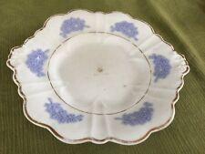 Unusual Chelsea Staffordshire Blue Sprig Dec. Serving Plate