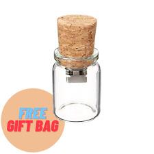 Cork Bottle USB Stick + Free Gift Bag - Christmas Stocking Filler 8GB 16GB 32GB
