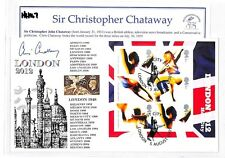 HH167 2012 OLYMPICS Cover Signed *Sir Chris Chataway* GB RUNNING 1948 Stamp PTS