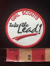 GIRL SCOUTS Take The Lead Patch C86R