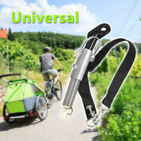 Universal Bike Metal Trailer Baby Pet Coupler Hitch Linker Attachment   🔥