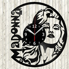 Madonna Vinyl Record Wall Clock Decor Handmade 2703