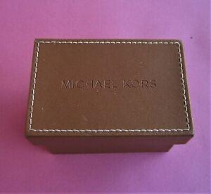 Vintage Leather Michael Kors Jewelry  Watch Empty Case Box