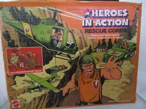 Heroes In Action Rescue Corps Mattel Set in Original Box