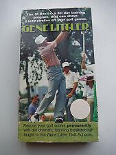 VHS Golf Video: GENE LITTLER_THE 10 BASICS_A 30-DAY TRAINING PROGRAM (1987)