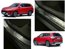 Mitsubishi OUTLANDER III 2012-2015 Stainless Steel Door Sill Scuff Protectors