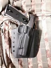 1911 KYDEX HOLSTER, TACTICAL BLACK PANCAKE