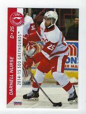 2014-15 Soo Greyhounds (OHL) Darnell Nurse (Edmonton Oilers)