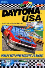 Rgc Huge Poster - Daytona Usa Arcade Sega Saturn - Oth495