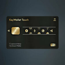 KeyWallet TOUCH CARD Key Wallet Hardware BTC LTC ETH BCH