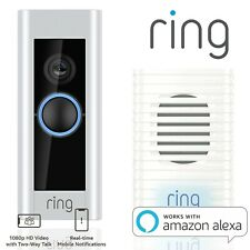 Ring Doorbell Pro Motion Video WiFi Intercom Security HD Camera with CHIME Alexa