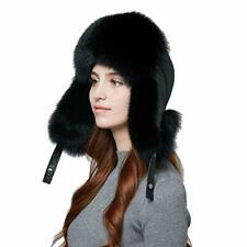 0268376dd Fur Aviator/Trapper Hats for Women for sale | eBay