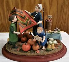 RARE Amish Heritage Collection - After the Harvest - #30071 Limited Ed. 1997