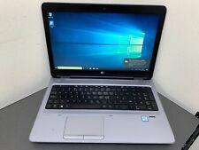 "HP ProBook 650 G2 15.6"" CORE i5 2.30 6300U 4GB 320 HD GRADE C LAPTOP WINDOWS 10"