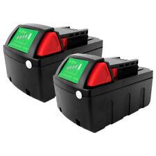 2 x 18V 3.0Ah Li-Ion Battery 3000mAh 18 Volt for Milwaukee 48-11-1840 M18