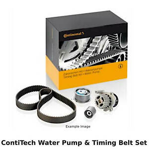 ContiTech Water Pump & Timing Belt Kit (Engine, Cooling)- CT1140WP2 -OE Quality