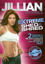 JILLIAN MICHAELS - EXTREME SHED & SHRED (DVD)