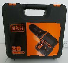 Black+Decker 18V PERCEUSE VISSEUSE BDCDC18K-QW NEUF VENDU AVEC TICKET DE CAISSE
