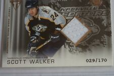 2003-04 Titanium Predators Hockey Card #165 Scott Walker /170 RARE