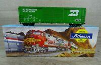 Athearn 5075 HO Scale 50' Double Door Box Car Burlington Northern # 247908 Wagon