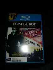 NOWHERE BOY Blu Ray Region A John Lennon Beatles Biography Paul McCartney Movies
