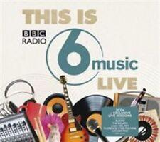 Various This Is BBC Radio 6 Music Live CD Rock Pop Compilation Album 2012