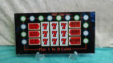 Spielautomat Glas Bally G5.355.41 Casino Gamble Karten Wette Bilderrahmen Bandit