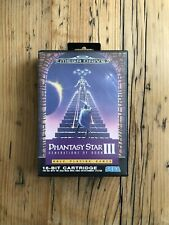 Phantasy Star 3 | Sega Mega Drive | CIB | No Repro