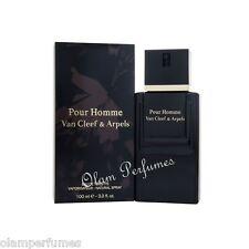Van Cleef & Arpels Pour Homme Eau de Toilette Spray 3.4oz 100ml * New in Box *