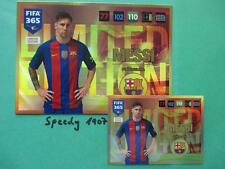 Fifa 2016 2017 XXL Limited Edition Lionel Messi Barcelona 365 Panini not XL