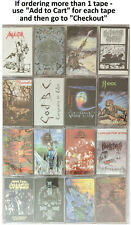 Thrash Metal Cassettes - Choose from 16 DIFFERENT WILD RAGS TITLES - Unplayed!