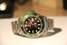 Rolex Submariner 50th Anniversary SS Green Bezel 40MM Watch D 16610LV 16610
