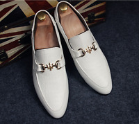 New Men's Dress Formal Oxfords Leather shoes Business Casual Shoes#