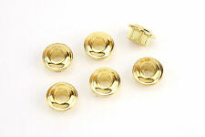 10mm Conversion Bushings for Vintage Style Tuners Tuning Machines Set Gold