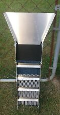 "Gold Sluice 31"" Compact W/ Stainless Riffles, Prospecting, Gems, Dredge, Mining"