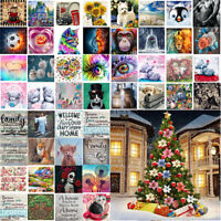 5D Full Drill Diamond Painting DIY Embroidery Xmas Arts Cross Stitch Crafts Kit