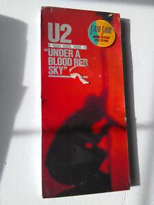 U2 ~ LIVE / UNDER A BLOOD RED SKY ~ cd 1983/198? NEW LONGBOX (long box)
