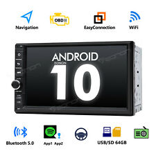 GA2186 Android 10 7inch 2Din MP5 Player FM/AUX Double Car Stereo Radio BT 5.0 SD