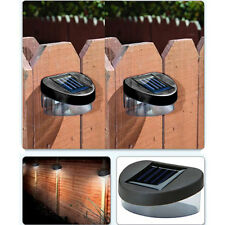 House Home Outdoor Garden Path Wall Fence Solar Powered Power 2LED Light