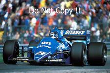 Jacques Laffite Ligier JS25 Dutch Grand Prix 1985 Photograph 1