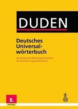 Duden - Deutsches Universalwörterbuch (2015, Gebundene Ausgabe)