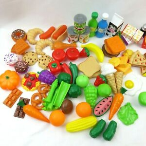 KidKraft Tasty Treats Play Food Setover 130 pieces with chefs wordrope