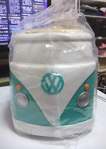 Volkswagen VW Tostadora Azul Caja Original Mini Bus Le Nuevo en Caja