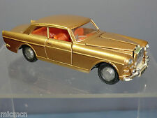 "DINKY TOYS MODEL  No.127 ROLLS ROYCE SILVER CLOUD Mk3  ""METALLIC GOLD VERSION"""
