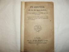livre ancien Les quatre sergents de La Rochelle 1822